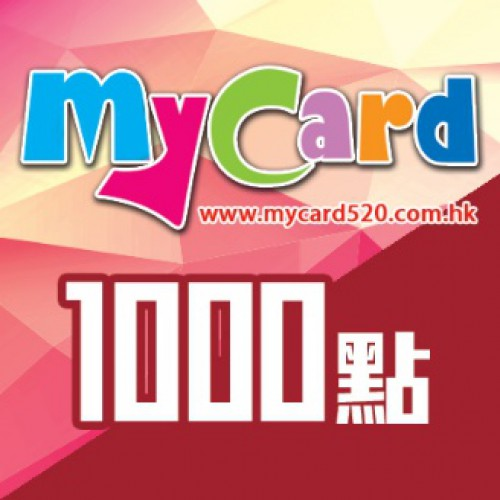 MyCard 1000-point virtual point card