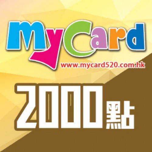 MyCard 2000-point virtual point card
