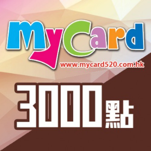 MyCard 3000-point virtual point card