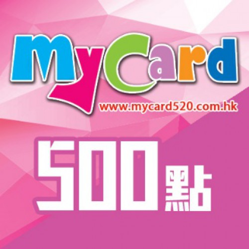 MyCard 500-point virtual point card