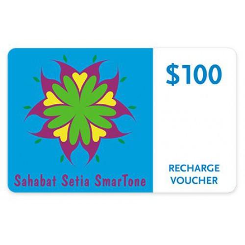 Sahabat Setia SmarTone $100充值券